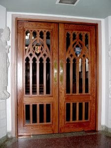 Custom Hardwood Door
