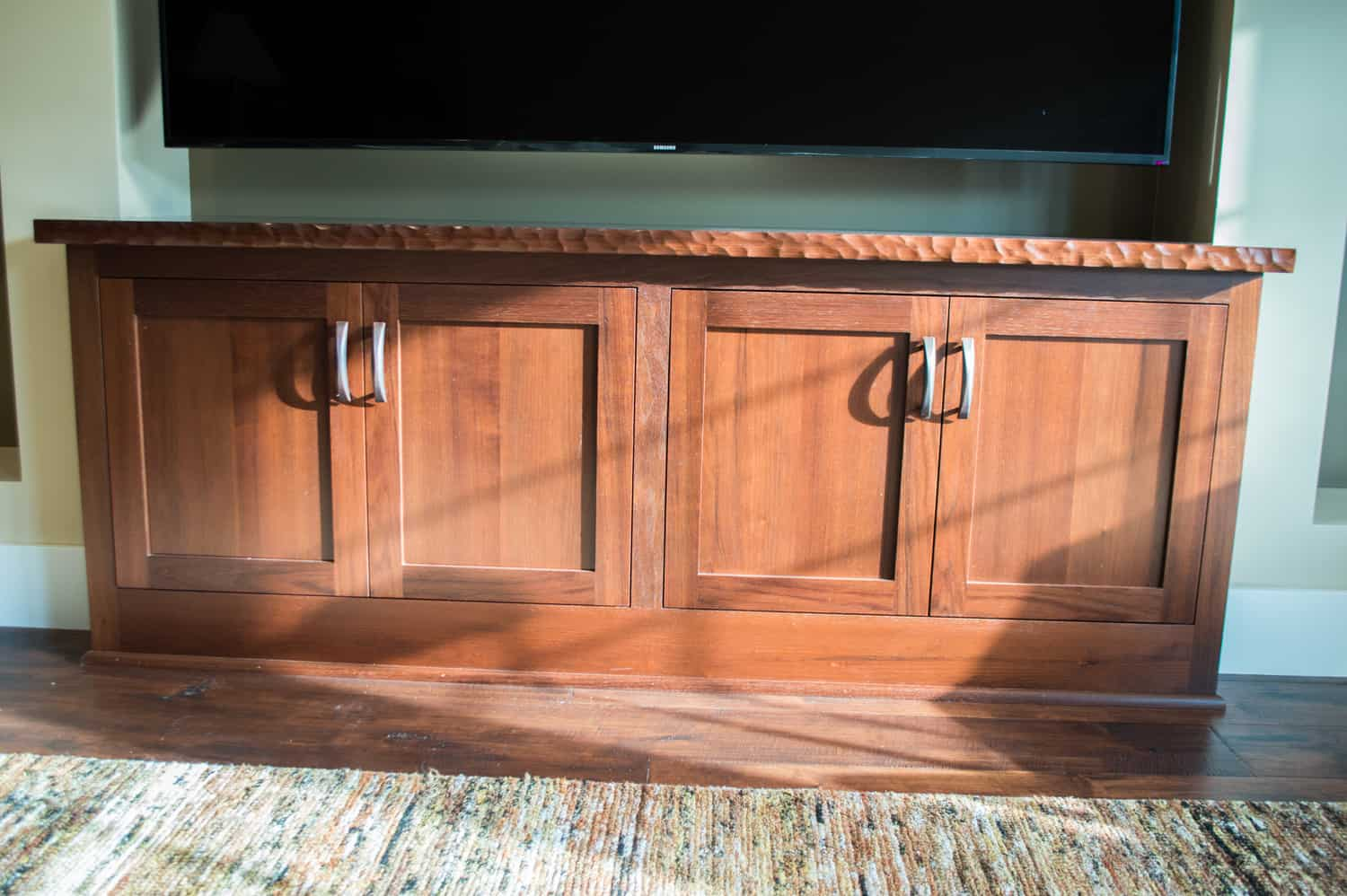 Custom Hardwoods Bar Cabinets