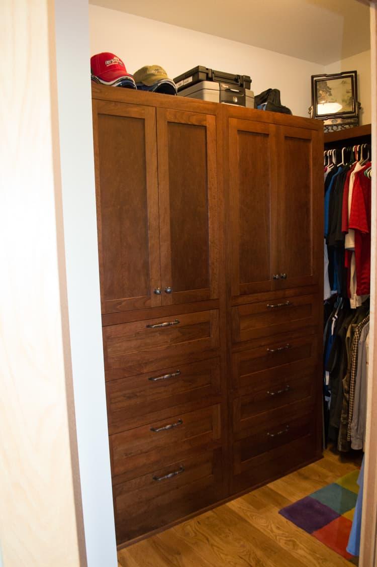 Custom Hardwood Dresser