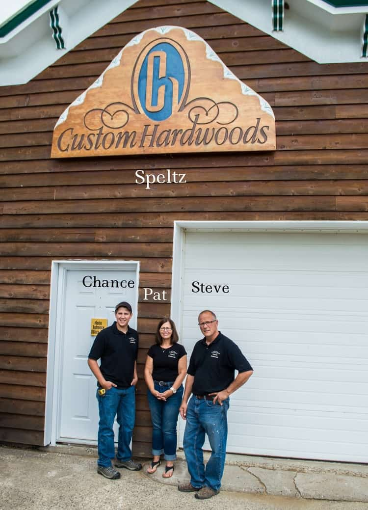 Custom Hardwoods Team