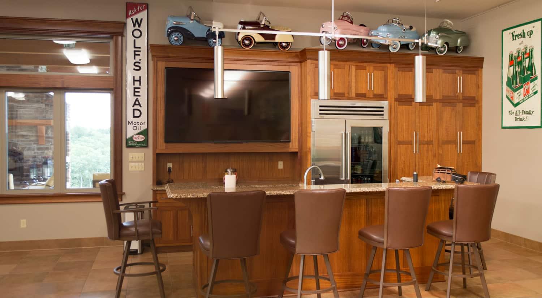 Custom Bar Cabinets