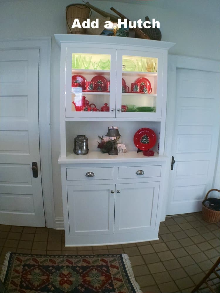 Custom Hutch and Cabinet
