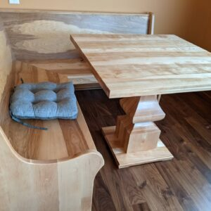 Custom Bench and table