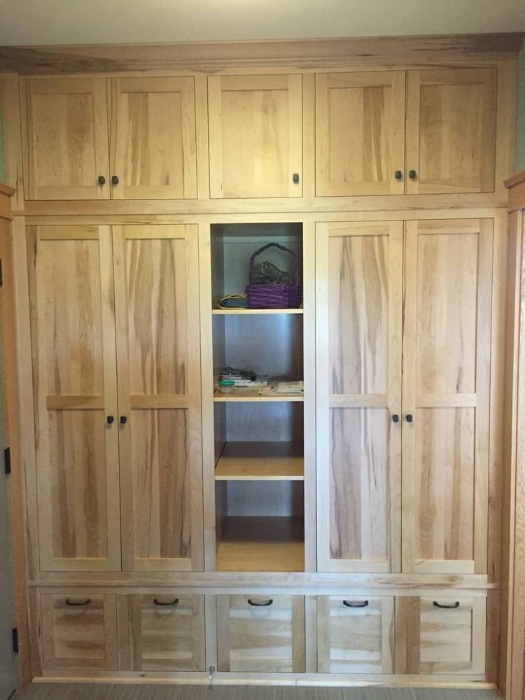 Custom Mud Room Cabinets