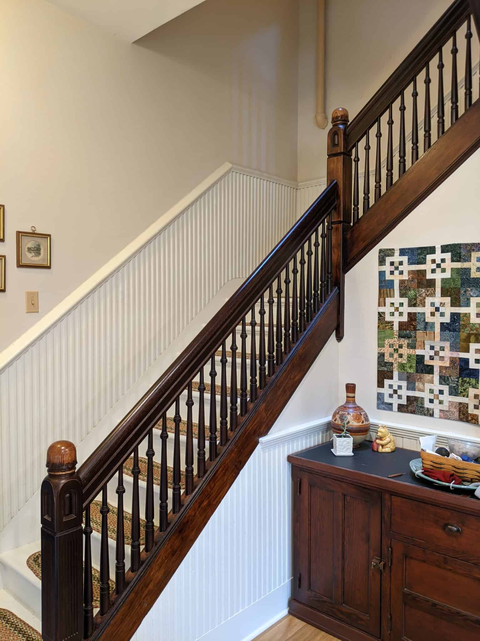 Vintage Reconstruction Stair Case